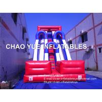 China Customized Fashion PVC Vinyl Inflatable Blow Up Slide With Air Blower / Repair Kits on sale