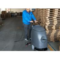 China Plastic Walk Behind Floor Scrubber With Electric Cable For Can Factory wholesale