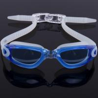 China Custom Mould Proof Anti Fog Swim Goggles For Kids With Silicone Head Strap wholesale