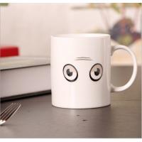 Porcelain Sublimation Heat Sensitive Color Changing Mugs For Home Decoration
