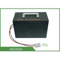 China Light Weight Deep Cycle Lithium Battery 48V 20Ah High Discharge Rate No Memory Effect on sale