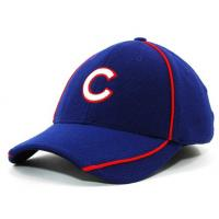 China Deep Blue Flexfit Mesh Baseball Hats Sports Cap with Sun Protection on sale