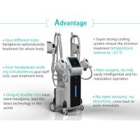 Buy cheap Beauty Spa use FDA approved multifunction cryotherapy slimming machine from wholesalers