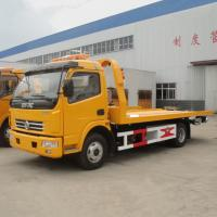 China Flatbed Wrecker Towing Truck For Sale on sale