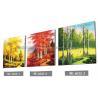 China Imágenes Frameless lenticulares del servicio de impresión del diseño 3D del paisaje 3D wholesale