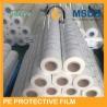 China Película protetora branca leitosa do PE da cor para um logotipo de aço inoxidável de 3 cores imprimível wholesale
