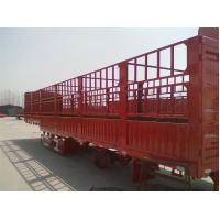 China 3 axle stake trailer cargo transport stake semi trailer 40ton load stake trailer wholesale