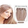 "Mixed Colors 10"" 24"" Clip In human Hair Extensions , Grade 7A Single Drawn Human Hair"