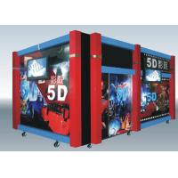 China Home Hydraulic / Electric Moiton 5D Theater / 7d Cinema Simulator wholesale