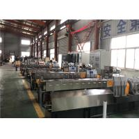 China Parallel Twin Screw Extruder Granules Example Filling Master Batch Production wholesale