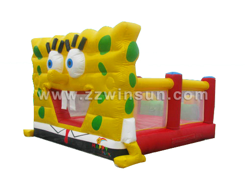 Quality Cheap vivid PVC inflatable bouncy used party jumpers for sale for sale