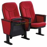 China Recovery Lecture Auditorium Chairs With Flame Retardant Fabric Damper Cushion wholesale