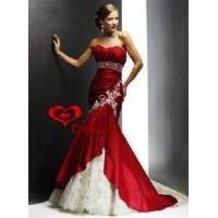 China Red Mermaid Wedding Dress (WD-3023) wholesale