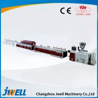 China Jwell PE/PP WPC plastic extrusion line for wood tray or floors wholesale