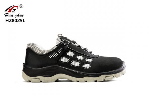 Quality Genuine Leather Sport Style Safety Shoes Composite Smash Resistant With Toe Cap for sale