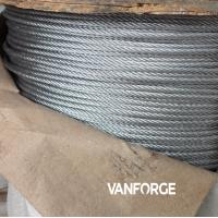 China 1x19 construction AISI 316 marine grade stainless steel wire rope for offshore platform wholesale
