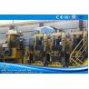 China Large Size Yellow ERW Pipe Mill Pipe Making Machine Round Shape Max 25m / Min Speed wholesale