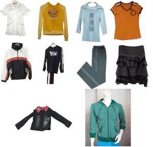 China Clothing Tops Shorts Sweater Jacket Sweater T-Shirt Pants  Dress  Sportswear wholesale