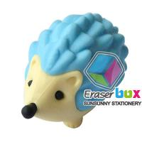 China TPR, PVC and Rubber SEA029 Hedgehog shaped animal TPR wacky eraser with OEM service wholesale