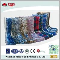 China 628 Cheap Wholesales PVC Cute Fashion Womans Waterproof Rain Gum Boots on sale