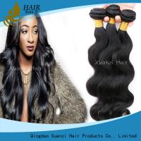 Durable Body Wave Malaysian Virgin Hair Extensions Yaki Straight No Shedding for sale