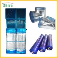 China Customized Printable Transparent Blue HVAC Duct Protection Tape Duct Protection Film Blue wholesale