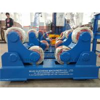 China Standard 10T Pressure Vessel Vessel Turning Rolls / Pipe Rotators For Welding wholesale