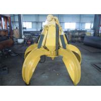 China No Rotate Hydraulic Orange Peel Grab Bucket for CAT320 Excavator wholesale