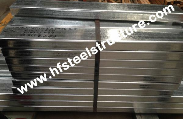 Quality Galvanized C Purlin Steel Building Kits For Construction Material / Bracket for sale
