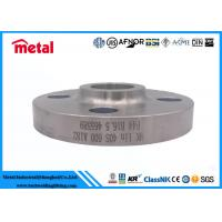 China Forged Nickel Alloy Pipe Fittings Socket Welding Flange SWRF SCH40S A182 F44 wholesale