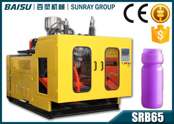Quality High Efficiency Automatic PE Plastic Bottle Blow Molding Machine 1100 Pcs / Hour for sale