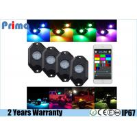 China RGB LED Rock Light Kits with Phone App Control Multicolor Neon Lights Under Off Road Truck SUV ATV wholesale