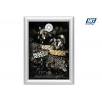 China DY05 A1 Silver Poster Holder,Anodized Silver Snap Frame Poster Display Holder wholesale
