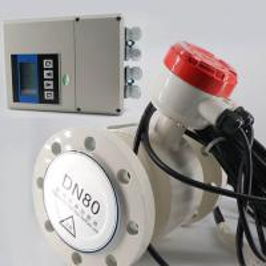 China Dn25 Dn800 Split Type Electromagnetic Flow Meter Water Magnetic Flowmeter wholesale