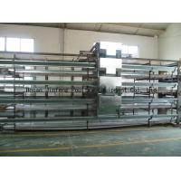 China Electronic galvanized layer chicken cages for chicken farm wholesale
