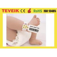 Medical Rfid Wristband For Baby Identification with factory production