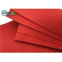 China Wide usage colorful PES needle punch felt fabric for decoration/ Embroidery/ Carpet/ car interior seats/art craft wholesale