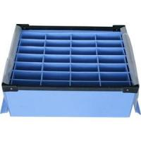 China Large Conductive Fire Resistance Corrugated Plastic Boxes For Partition wholesale