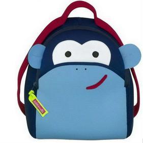 Buy cheap 注文のネオプレン プロダクト子供のためのおかしくかわいい猿のネオプレンのバックパック from wholesalers