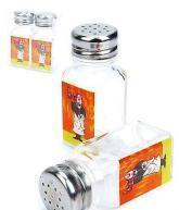 China Glass spice bottles wholesale