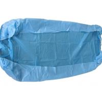 China Spunbond Non Woven Disposable Surgical Drapes Blue Bed Covers Customized Size on sale