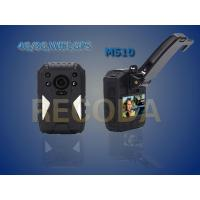 China Waterproof IP 68 Law Enforcement Body Camera Policy With 140 Degrees Recording wholesale