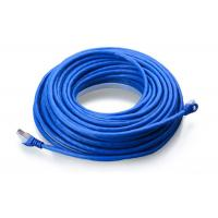 China Blue FTP Cat6A Cable , Customized Length 4 Pair Twisted Shielded Cable wholesale