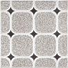 China Metal Glazed Vintage Bathroom 200 X 200 Floor Rustic Porcelain Tiles wholesale