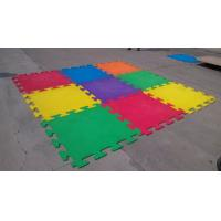 China high quality factory price anti-slip crossfit interlock EPDM  pure color rubber tiles wholesale