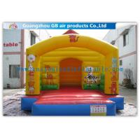 China 8m House Type Residential Inflatable Jumper Castle Inflatable Bouncy Castle Kids on sale