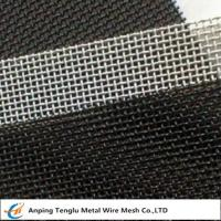 China SS 316 Wire Mesh Screen|3~500mesh Square Hole Customized Size wholesale