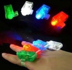 China Red, White, Blue, Green Color Laser Finger Beams LED Lights Toy 4 Piece Set on sale