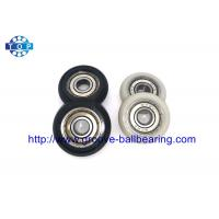 China Nylon Plastic Embedded 608 608ZZ Carbon Steel Ball Bearing For Guide Pulley wholesale
