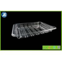 China Biodegradable Clear Plastic Food Packaging Trays With Compartments wholesale